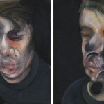 弗朗西斯培根(Francis Bacon)  拍品No.18双联自画像(Two Studies for Self-Portrait,1977) 图片来源:苏富比Sotheby