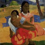 保罗·高更(Paul Gauguin) 《你何时嫁人》(Nafea Faa Ipoipo/when will you marry?)(1892) 图片来源:Artothek/Associated Press
