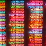 布鲁斯•瑙曼(Bruce Nauman),《生死百态》(One Hundred Live and Die,1984)