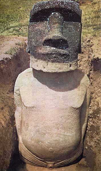 图片:courtesy the Easter Island Statue Project.