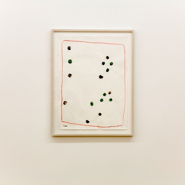 Raoul de Keyser, untitled, watercolour on Ingres-paper, 64.5 x 47.8cm, 2002  致谢:艺术家本人及木木美术馆