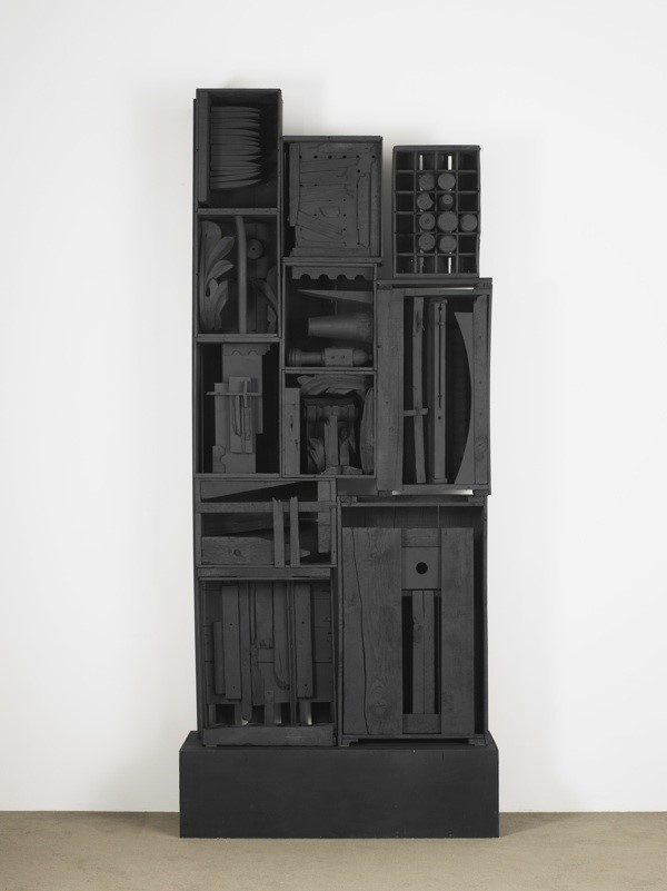 图片:©Estate of Louise Nevelson/Artists Rights Society (ARS), New York. Courtesy of Pace Gallery.