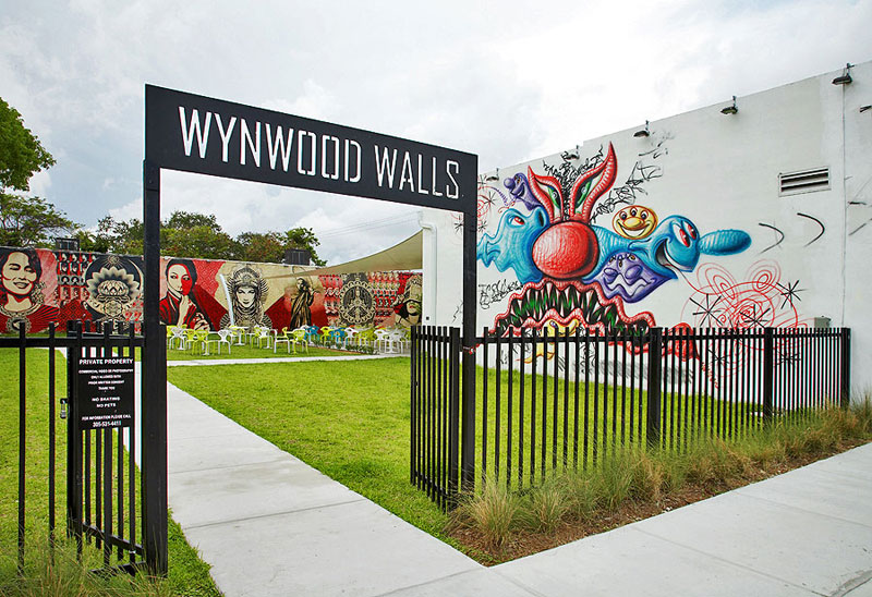 Wynwood Walls 图片:courtesy Goldman Properties