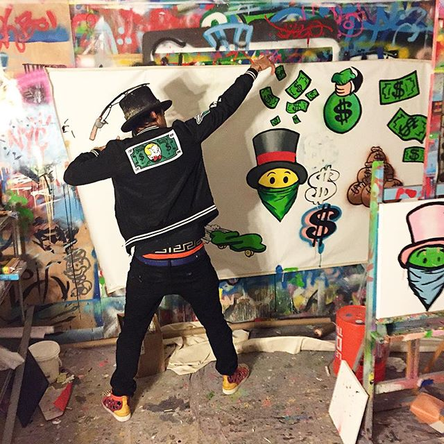 "Alex Monopoly, ""My City, My Vibe."" Photo: Alex Monopoly, via Instagram"