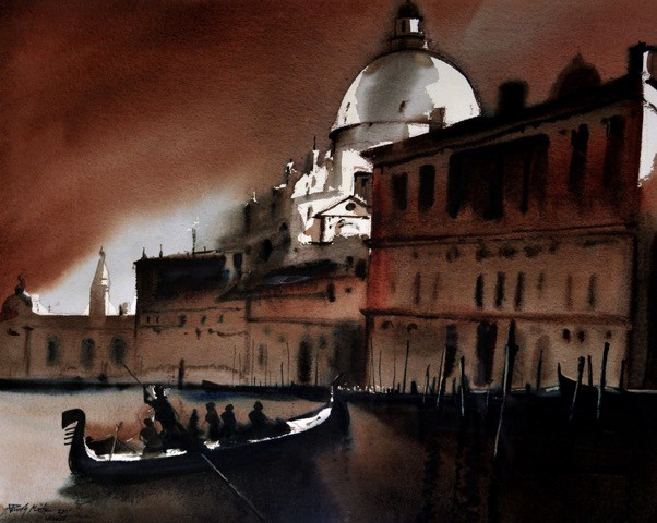 Paresh Maity《大运河》(Grand Canal)  图片:courtesy the artist and Stellar International Art Foundation