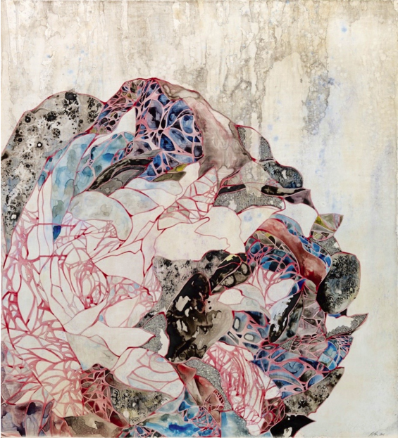 贝琳达·福克斯,《禁足》(Grounded),2015 图片:Courtesy of Chan Hampe Galleries.
