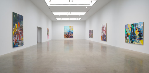 Qiu Xiaofei: Double Pendulum 510 West 25th Street, New York, NY March 10 – April 23, 2016 From left: Systems of Chaos (close shot), 2015, #62653; Tape Junk No. 3, 2015, #62649; Systems of Chaos (long shot), 2015, #62655; Zero Gravity No. 1, 2015, #62650; Tape Junk No. 2, 2015, #62648; Temple Roof, 2015, #62651 view 2 Format of original photography: digital Photographer: Tom Barratt
