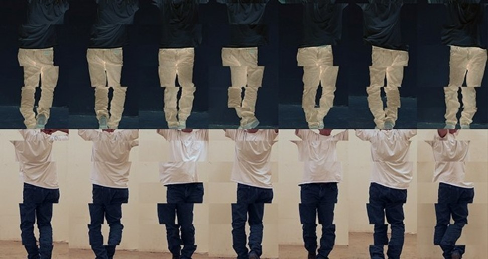 布鲁斯·瑙曼,《Contrapposto Studies,I through VII》的截图。图片: Courtesy the artist and Sperone Westwater,New York; © Bruce Nauman/Artists Rights Society (ARS), New York