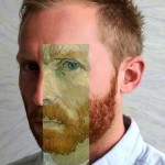 PAY-Steve-Monk-Chipman-with-part-of-the-famous-Vinvent-Van-Gogh-painting-over-his-face