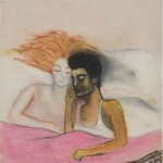 Alice Neel, Alice and José, Pastel on paper, 29.8 x 22.9 cm, 1938。 图片:致谢卓纳画廊
