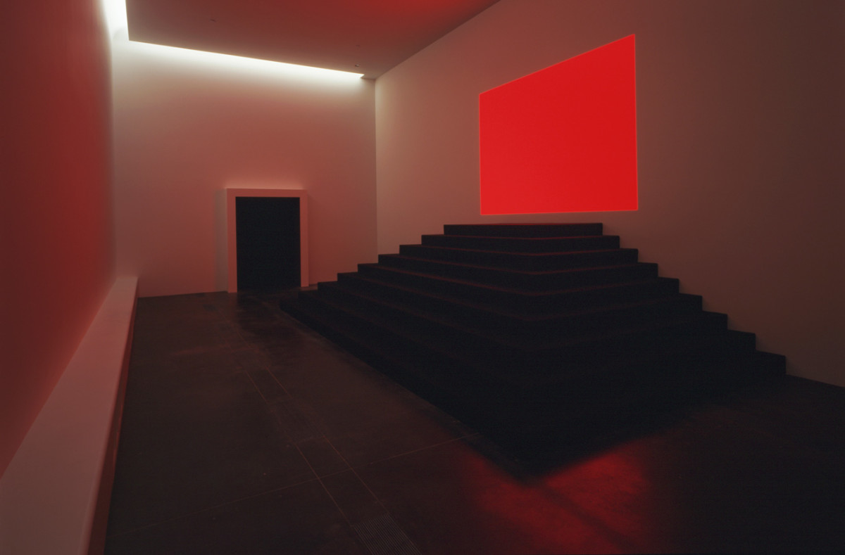 詹姆斯·特瑞尔《Breathing Light》,2013年。图片:致谢James Turrell Studio