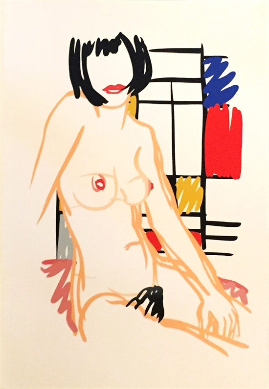 tom-wesselmann-monica-sitting-with-mondrian-prints-and-multiples-zoom_550_794