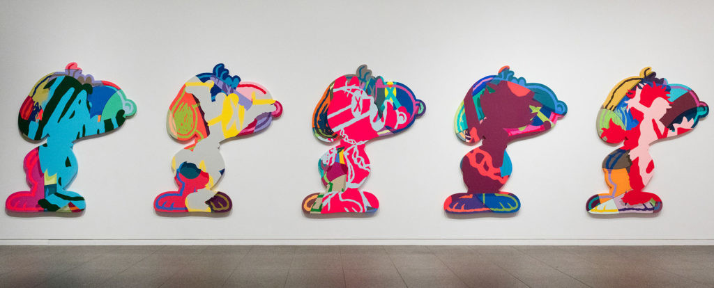 "KAWS ""Five Suspects"