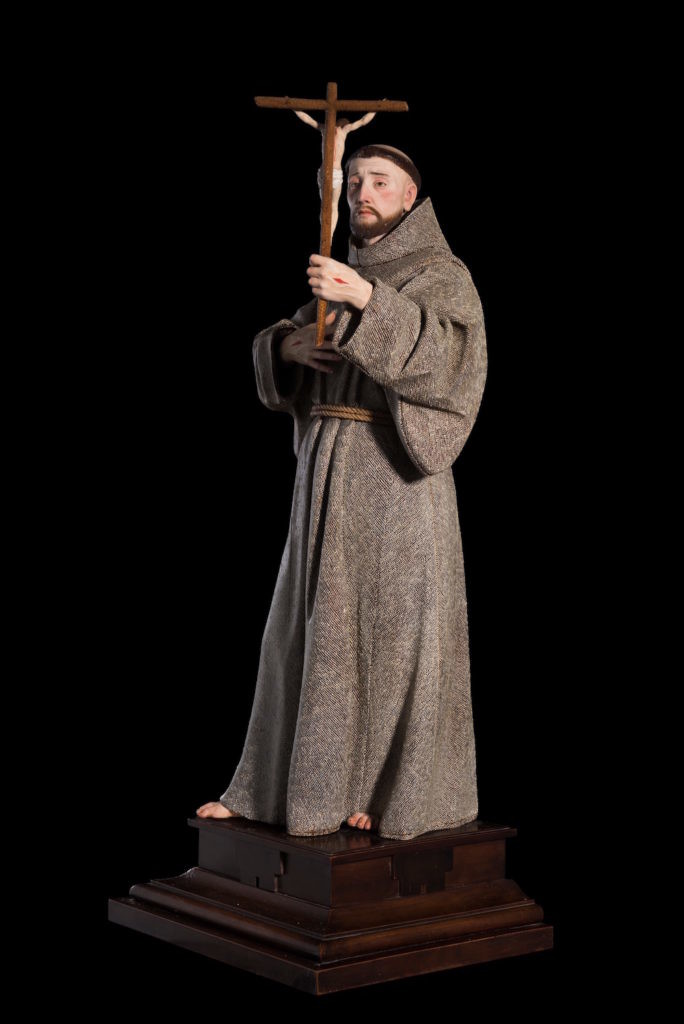 Pedro De Mena,《Saint Francis of Assisi》。图片:Courtesy Colnaghi, London