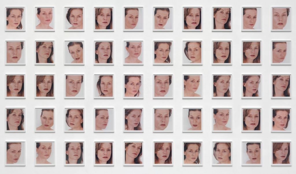 Roni Horn,《Portrait of an Image》(200)。图片:Image courtesy Michael Fuchs Gallery