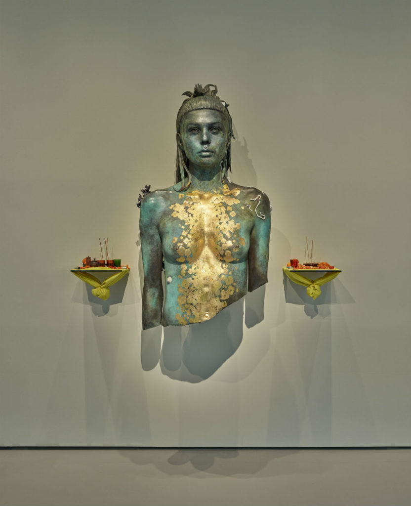 达明·赫斯特,《Aspect of Katie Ishtar ¥o-landi》。图片: Prudence Cuming Associates © Damien Hirst and Science Ltd. All rights reserved, DACS/SIAE 2017