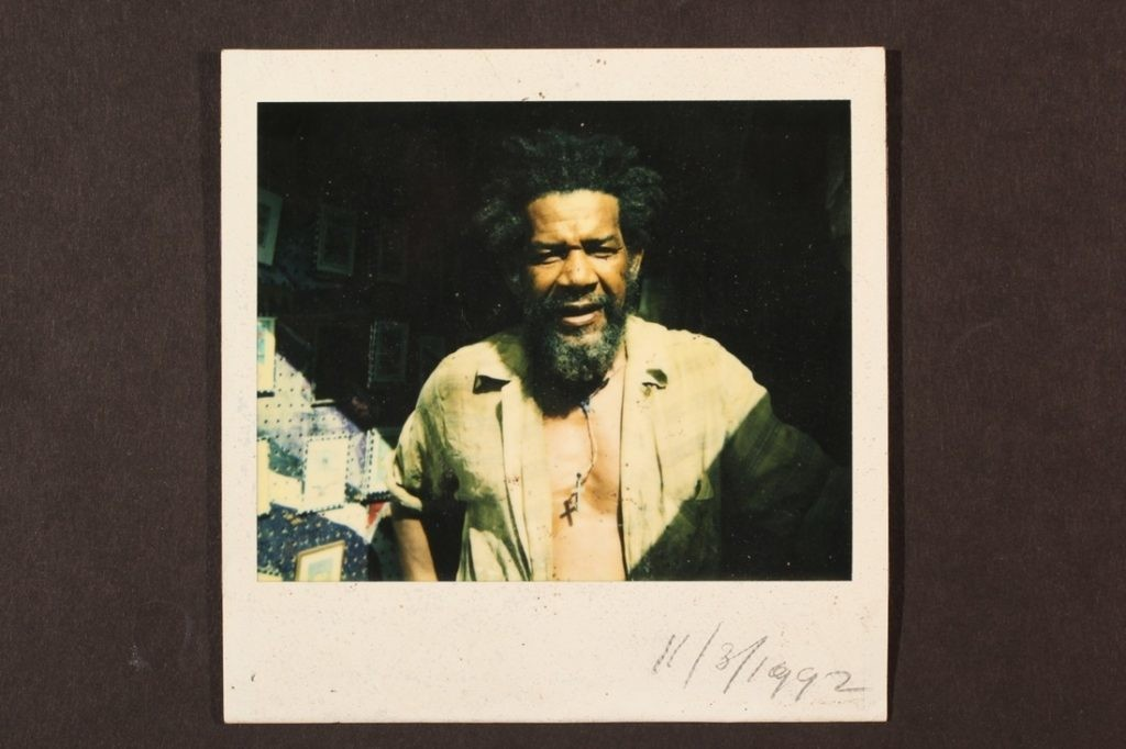 Frank Walter,宝丽来摄影(Polaroid Photograph),1982. 图片:Kenneth M.Milton Fine Arts Conservation,致谢Estate of Frank Walter