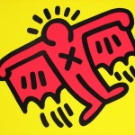 Keith Haring, X-Man (from Icons)