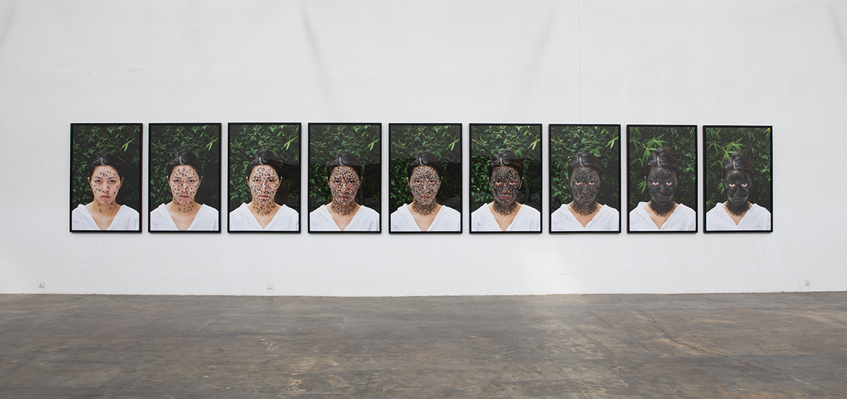 ZHANG HUAN_2015 Family Tree. Courtesy Pace Gallery (1)