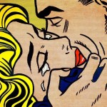 罗伊•里奇特斯坦,《吻 V》,1964年,Collection Simonyi,© Estate of Roy Lichtenstein。图片:Eduardo Calderon