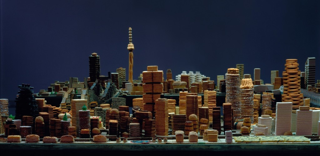 Song Dong, Eating the City in Beijing, 2003, installation view, ©Song Dong, courtesy of Pace Beijing. jpg
