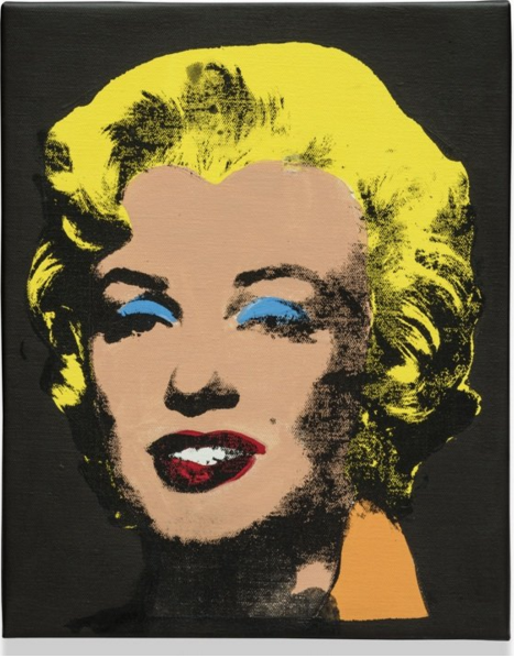 伊莱恩·斯特蒂文特,《沃霍尔、甘草、玛丽莲》(Warhol Licorice Marilyn),2004。图片:by Charles Dupret;Courtesy Thaddaeus Ropac, Paris and Salzburg