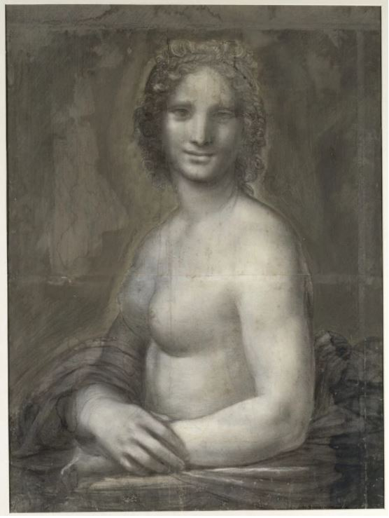 《蒙娜瓦娜》(Mona Vanna)。图片:courtesy of MuséeCondé, Chantilly