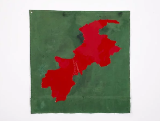 Dora Longo Bahia,《Gel Poetics War in North West Pakistan 2004 – ongoing conflicts》,2012
