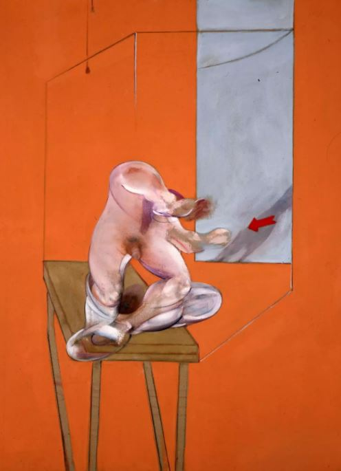第五届ART021亮点展品:Francis Bacon,《Study from the Human Body – Figure in Movement》,1982。图片:ART021