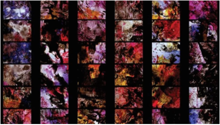 Stan Brakhage,选自《Dante's Quartet 》(1987)的画面,Canyon Cinema: Film