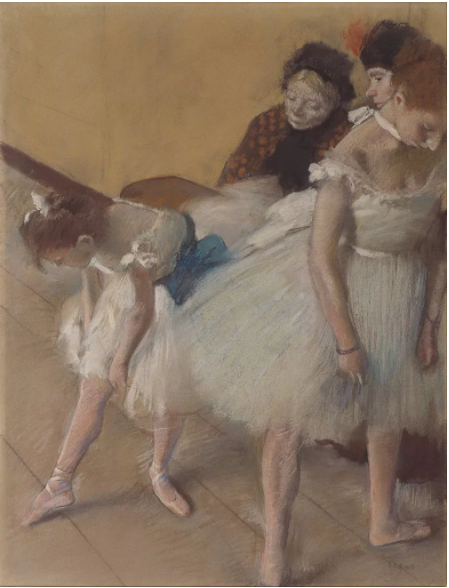 德加,《Dance Examination (Examen de Danse)》,1880。图片:Courtesy of the Denver Art Museum