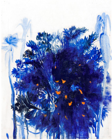 Brett Whiteley,《Moreton Bay Fig and Palms》,1974。图片:致谢苏富比(澳大利亚)