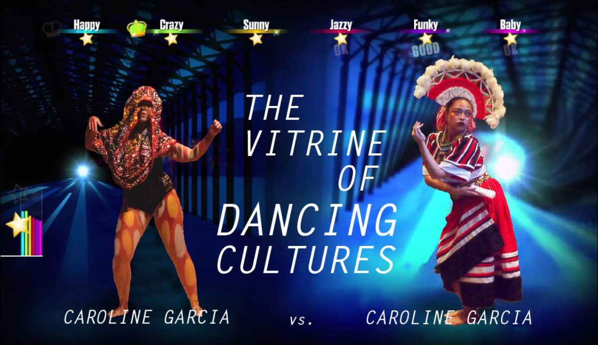 Caroline Garcia,《The Vitrine of Dancing Cultures》 。图片:由 4A 当代亚洲艺术中心提供