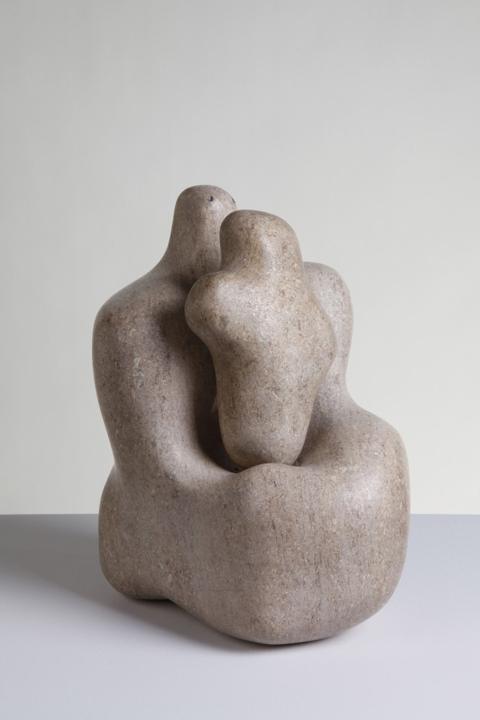 芭芭拉·赫普沃斯,《母与子》(Mother and Child),1934。图片:致谢The Hepworth Wakefield (Wakefield Council Permanent Art Collection)