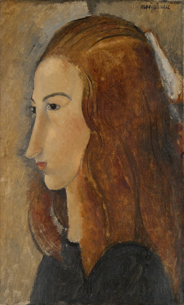 莫迪利亚尼,《Portrait of a Young Woman》,1918。图片:Yale University Art Gallery