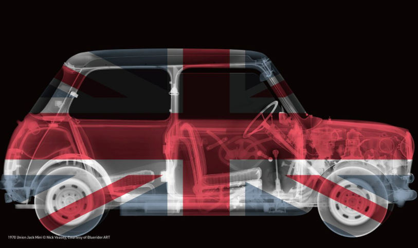 Nick,《1970 Union Jack Mini》。图片:致谢Bluerider ART