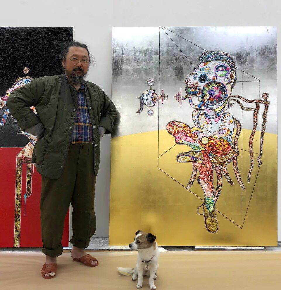 村上隆(Takashi Murakami)。艺术家肖像,2018。图片:©2018 TakashiMurakami/Kaikai Kiki Co., Ltd. All Rights Reserved