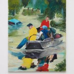 Celeste Dupuy-Spencer,《Cajun Navy, August 2016》(2017)。图片:Courtesy the artist and Nino Mier Gallery, Los Angeles;Courtesy MalboroughContemporary, New York
