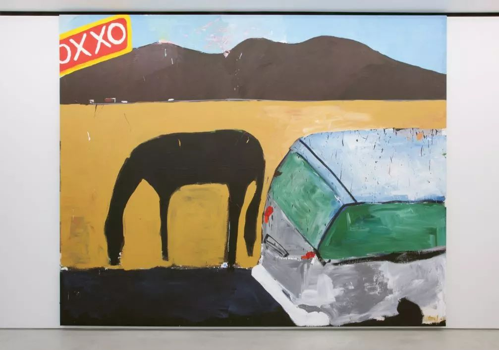 Henry Taylor,《OXXO–Somewhere in Mexico but closeto the BORDER 》,2015-2018年。图片:致谢Blum & Poe