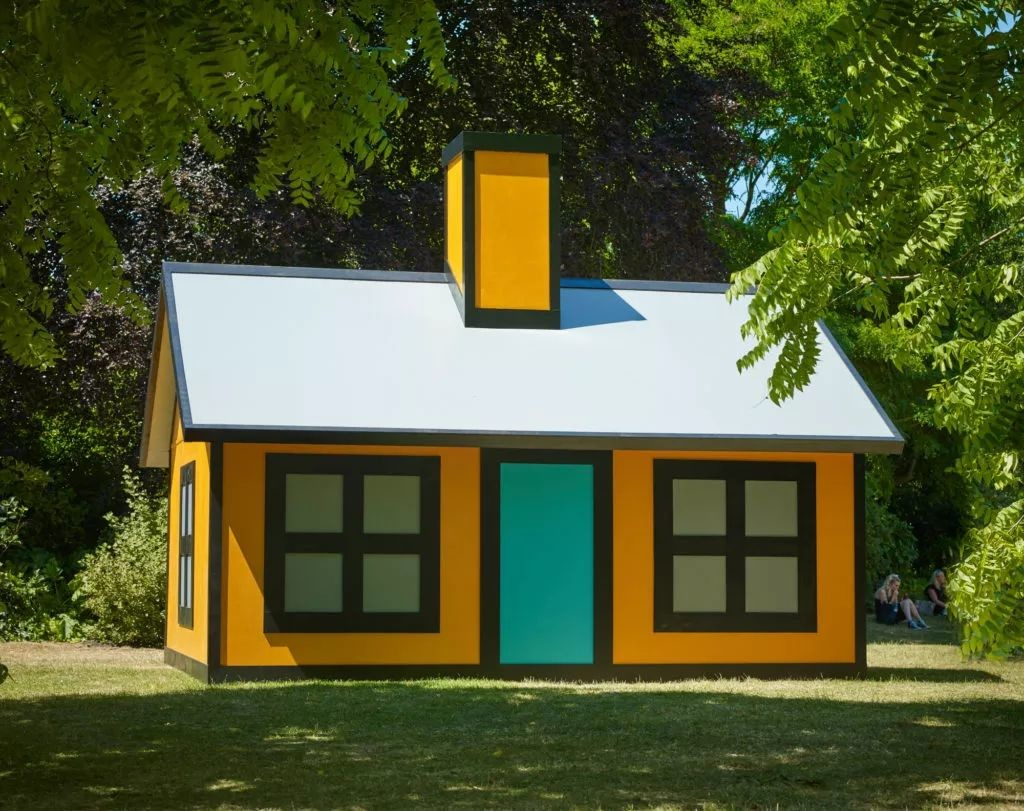Richard Woods,《Holiday Home (Regent's Park)》 (2018)。图片: Alan Cristea Gallery