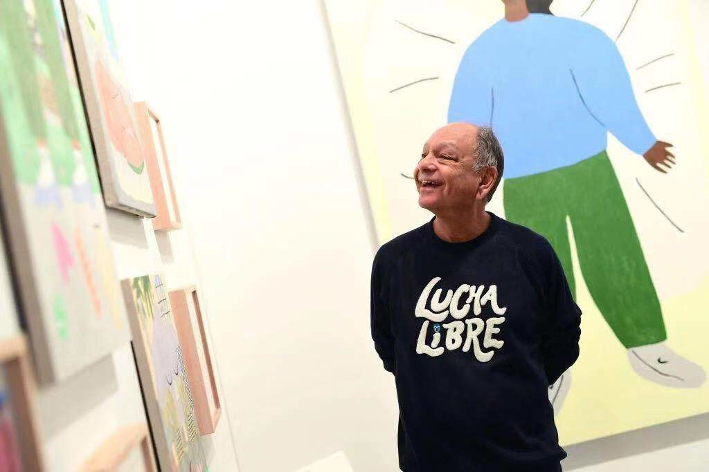 切奇·马林(Cheech Marin)。图片:Emma McIntyre/Getty Images for Art Los Angeles Contemporary