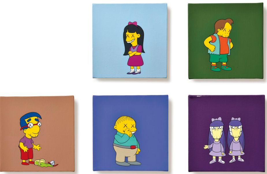 "KAWS,""KIMPSONS"