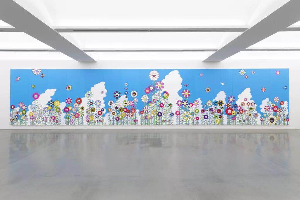 "村上隆,""Heads ↔ Heads"",贝浩登纽约画廊现场图。所有艺术品 © Takashi Murakami/KaikaiKiki Co., Ltd. All Rights Reserved. Courtesy Perrotin。图片:Guillaume Ziccarelli"