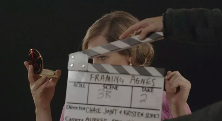 Chase Joynt 和Kristen Schilt执导的电影《Framing Agnes》。图片:courtesy of the Tribeca Film Festival