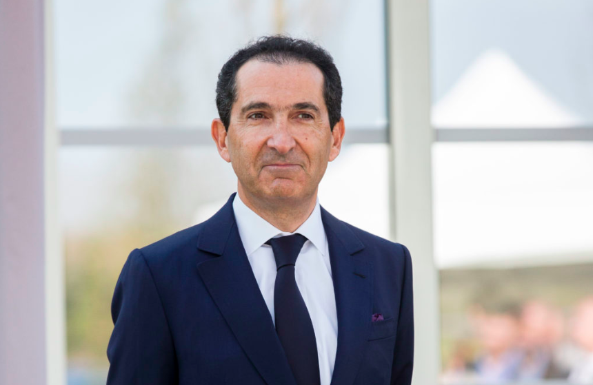 法国电信巨头Patrick Drahi。图片:by Christophe Morin/IP3/Getty Images