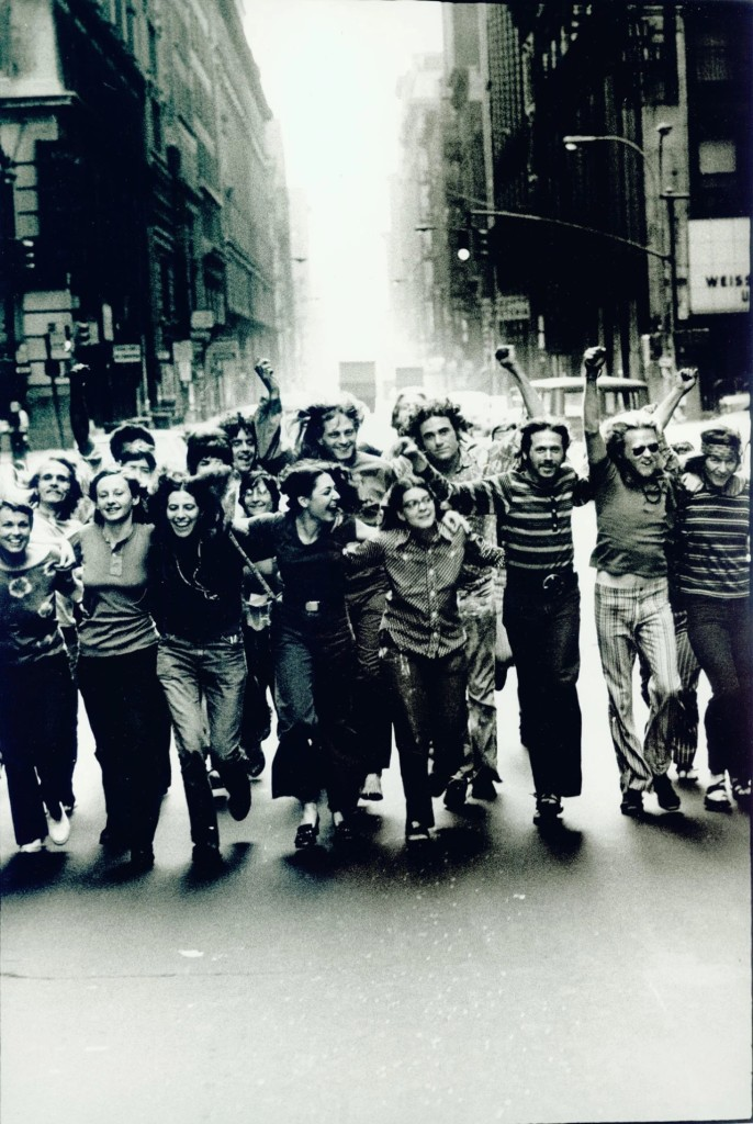 Peter Hujar,《Gay Liberation Front Poster》(1970)。图片:Courtesy of the Leslie Lohman Museum