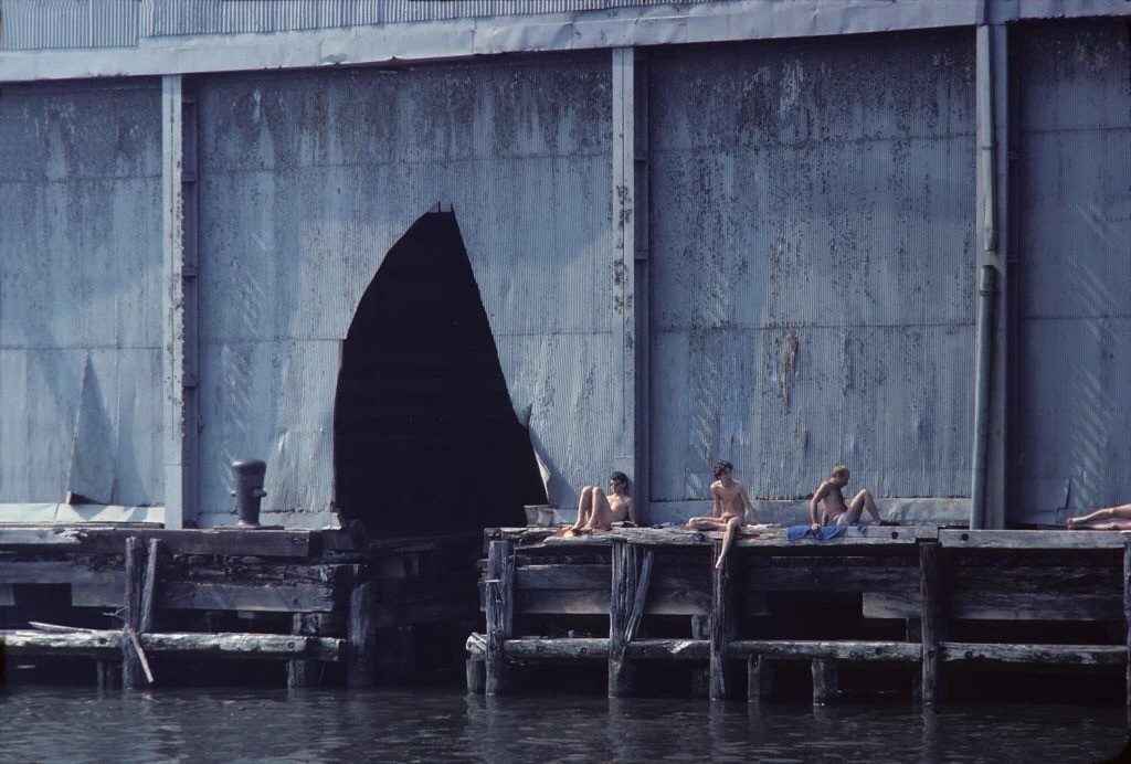 Shelley Seccombe,《Pier 52》(1978)。图片:Courtesy of the artist