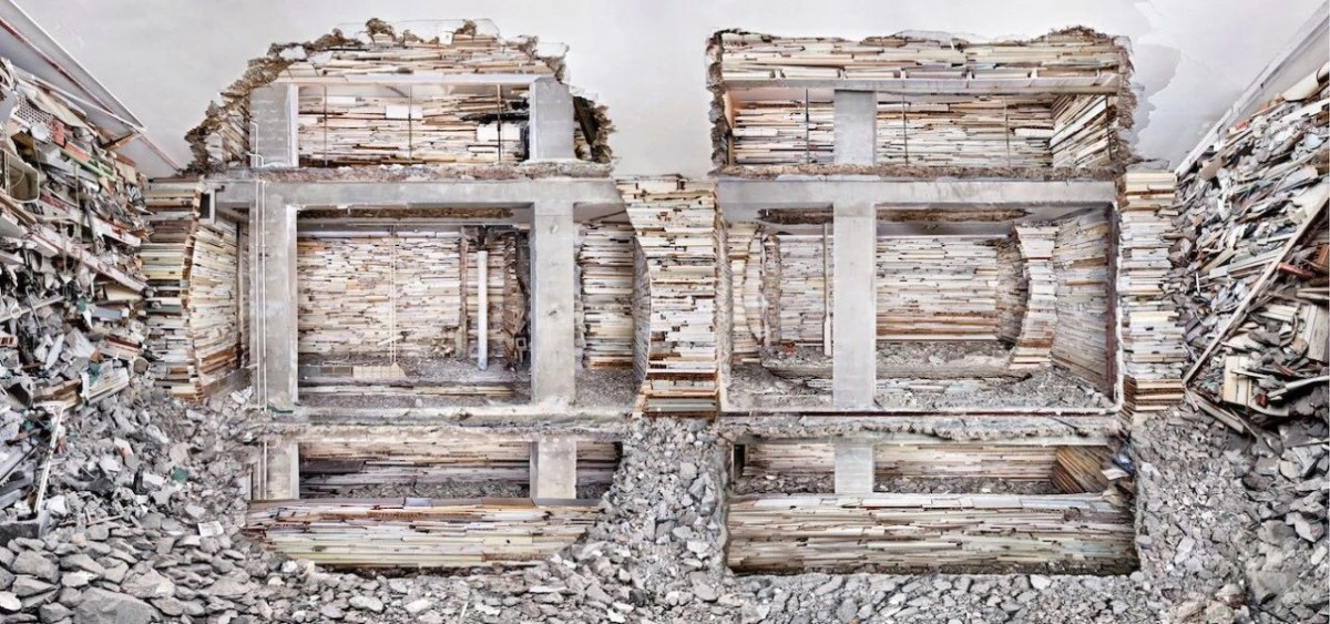 Marjan Teeuwen,《Destroyed House Mondriaanstraat 1》,2011