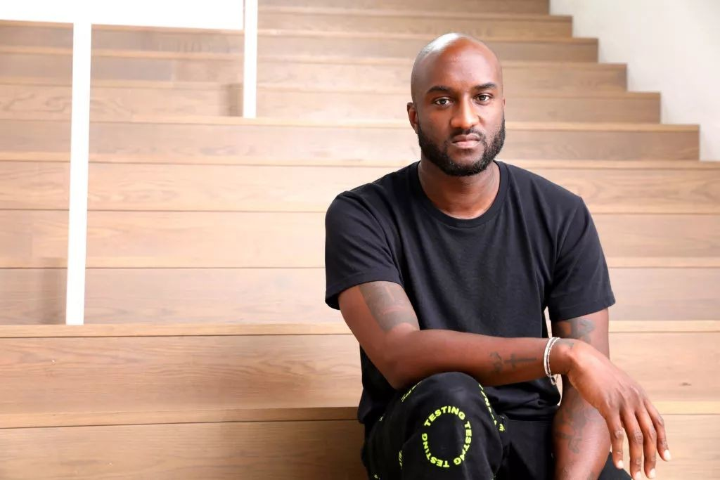 Virgil Abloh。图片:Photo by Katrina Wittkamp, courtesy MCA Chicago
