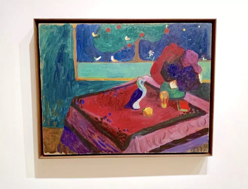 Gabriele Münter,《Interior》(1908)。图片:Ben Davis